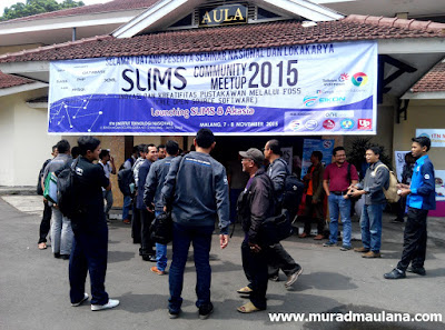 Community Meetup Slims 2015 ITN Malang