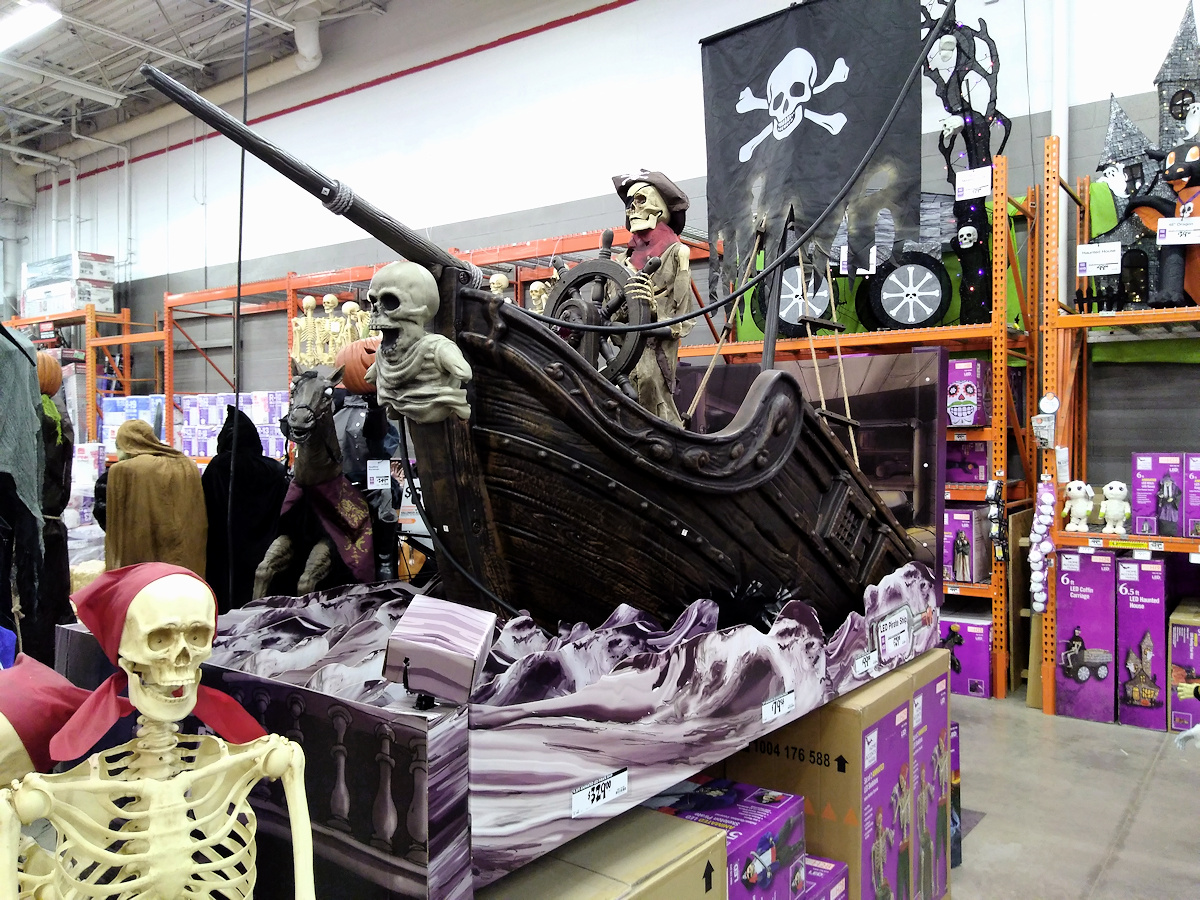 Haunted Eve S Halloween Blog Home Depot Haunted Pirate Ship