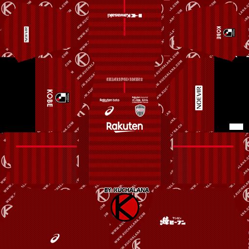 4fbe621900e0 Vissel Kobe 2019 Kit - Dream League Soccer Kits - Kuchalana