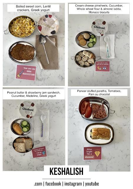 kids lunch box ideas for school