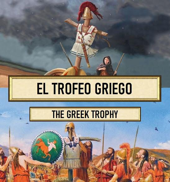 El origen de la palabra trofeo, el cual era un claro ejemplo de la unión guerra y religión y un símbolo de victoria.