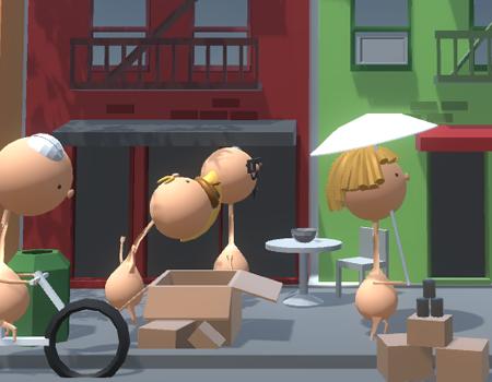 Jogos puzzle, poops: Não cague nas pessoas