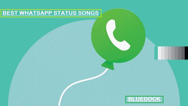 whatsapp status songs