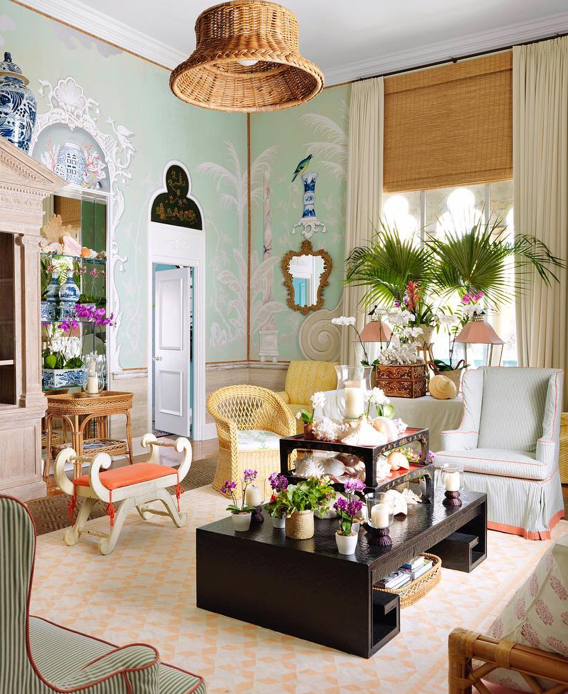 Decor Inspiration Palm Beach Apartment By Amanda Lindroth Cool Chic Style Fashion