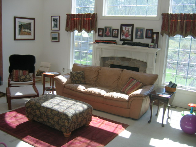 CONTROLLING Craziness: Rearranging the Living Room (only to put it ...