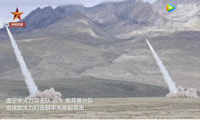 Tibet live-fire drills part of annual training