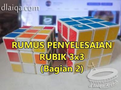Penyelesaian Rubik 3x3 (Bagian 2)