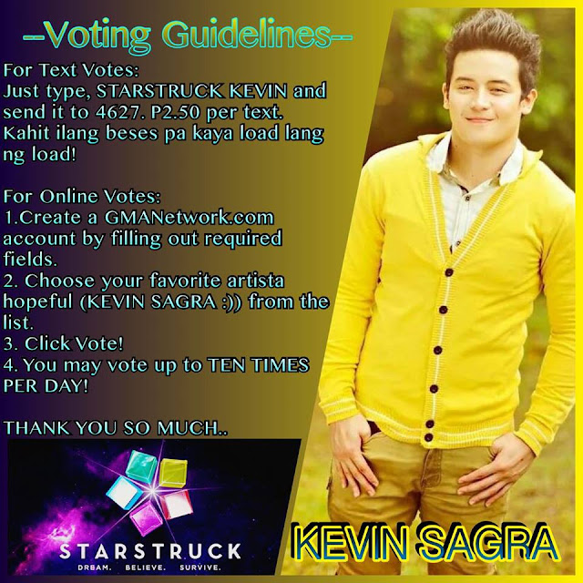 Vote StarStruck Kevin Sagra