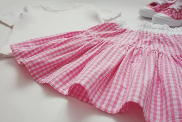 spódniczka z bluzki DIY