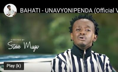 VIDEO   Bahati _  Unavyonipenda mp4   download