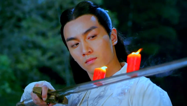 scene from ep2 in popular cdrama Three Heroes and Five Gallants starring Chen Xiao