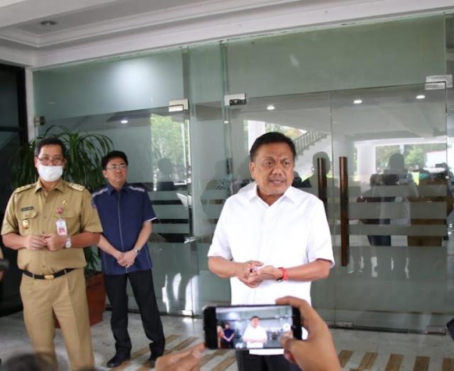 Ratas Video Teleconference Gubernur Dengarkan Arahan Presiden
