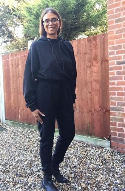 Cailleigh black loungewear set