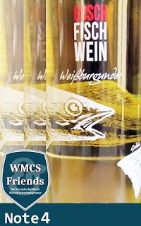 Gosch Fisch Wein - Weißburgunder - Baden 2015