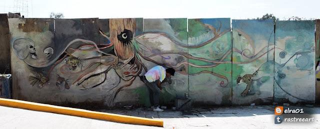 Tercera semana del Graffiti uacm 2016