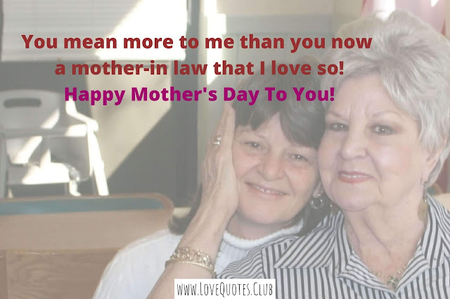 love quotes for mother in law