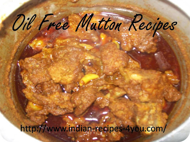 oil free mutton recipes