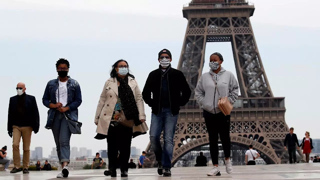 كوفيد-19 : فرنسا تسجل 3310 إصابات خلال 24 ساعة في أكبر حصيلة منذ رفع الحجر الصحي