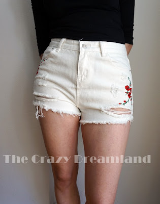 white-short-zaful