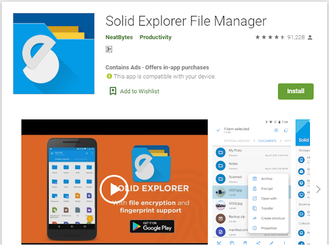 solid file manager