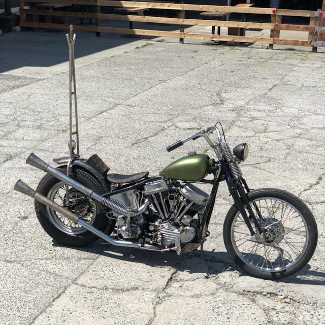 Harley Davidson Panhead By Butts Seats Hell Kustom