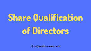 qualification shares of directors companies act 2013