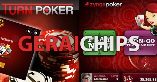 Zynga Poker dan Turn Poker - Gerai Chips - Jual Chips