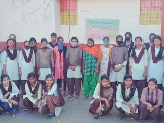 महिला एवं बाल विकास परियोजना द्वारा अपराजिता अभियान का शुभारंभ