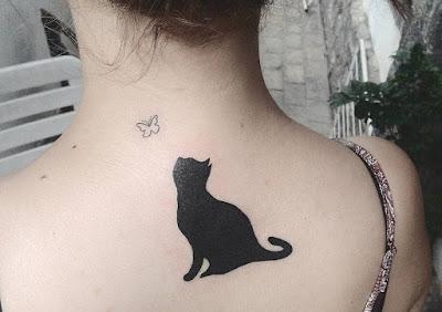 Tatuajes de gatos super lindos