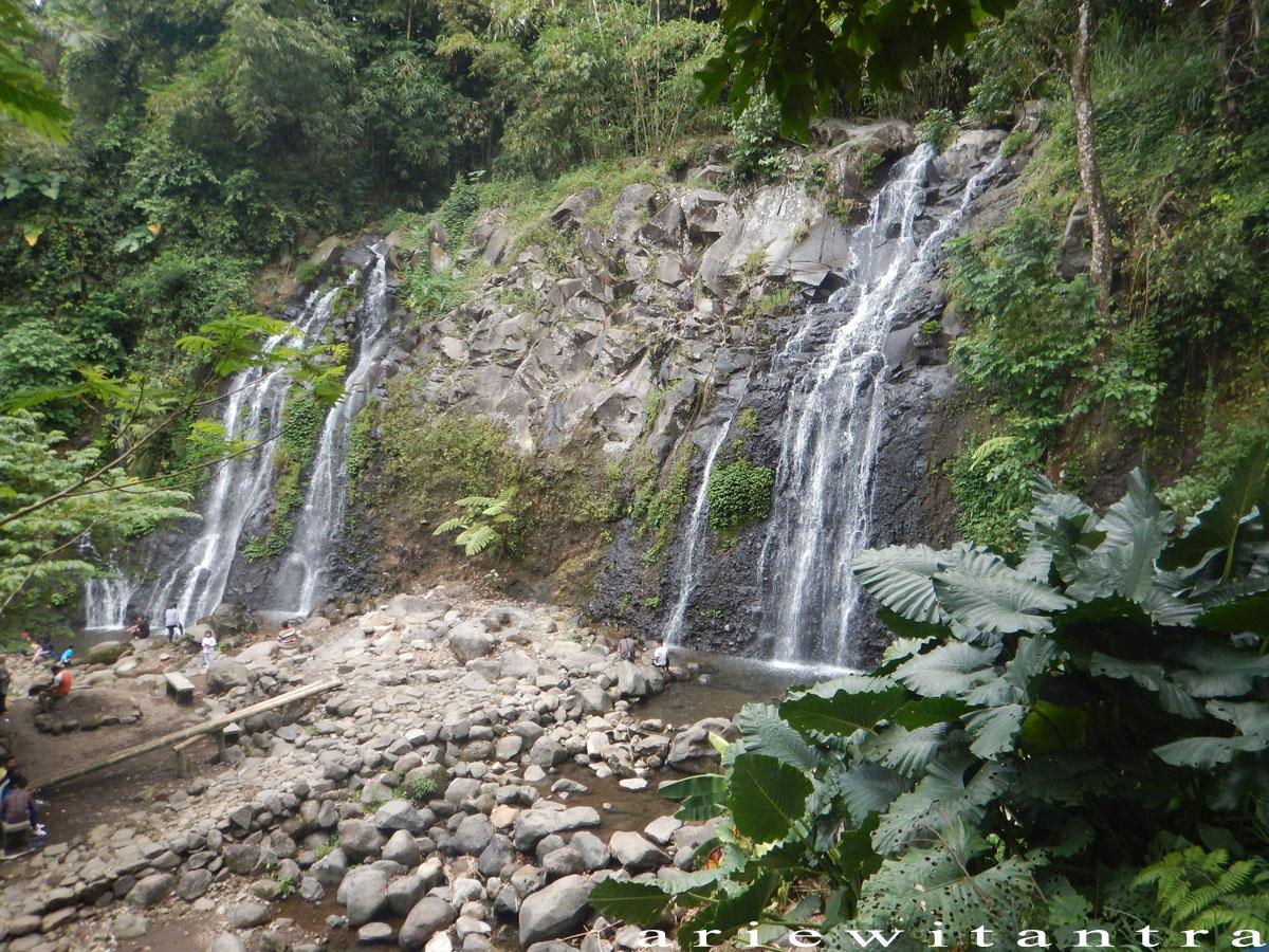 Air Terjun Pengantin Dan Suwono Dua Pesona Alam Di
