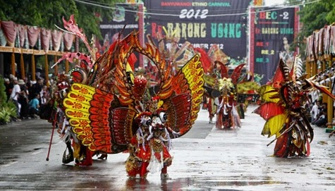 Banyuwangi Ethno Carnival 2012, Re-Barong Using.