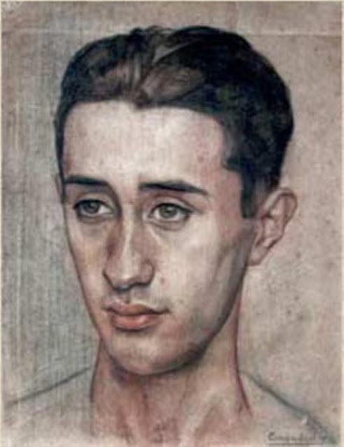 Museo Pérez Comendador-Leroux, Self Portrait, Portrait of Painters, Enrique Pérez Comendador, César Velasco Morillo, Museo de Hervás
