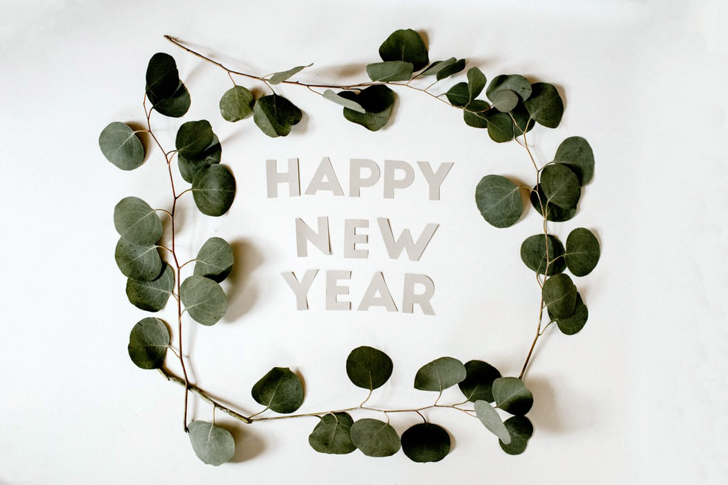 Happy New Year Plant Slow Life