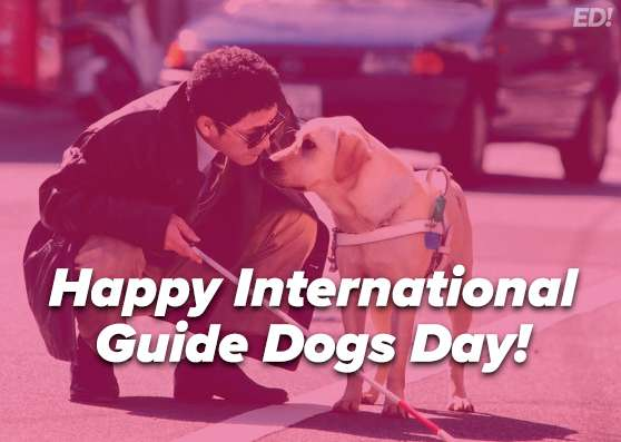 International Guide Dog Day Wishes Photos