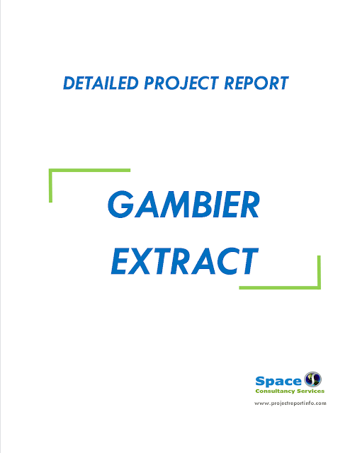 Project Report on Gambier Extract Unit