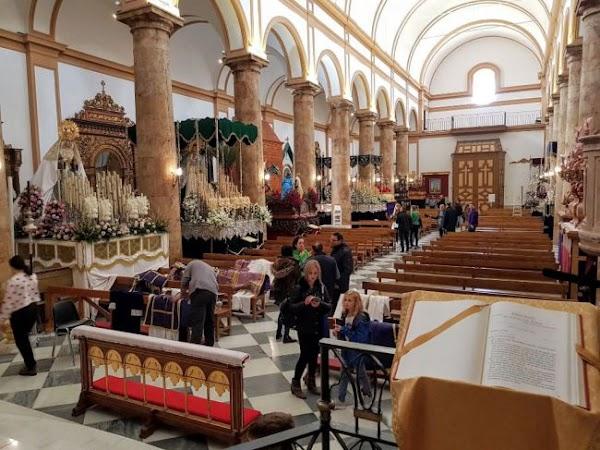 El obispo de Almería suspende las procesiones y viacrucis de Semana Santa