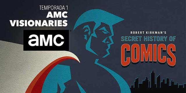 'AMC Visionaries: Robert Kirkman – La historia secreta del cómic' se estrena en AMC España