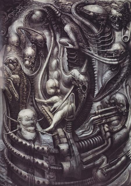 Giger et ses représentations d'Alien ont eu une influence majeure sur la SF