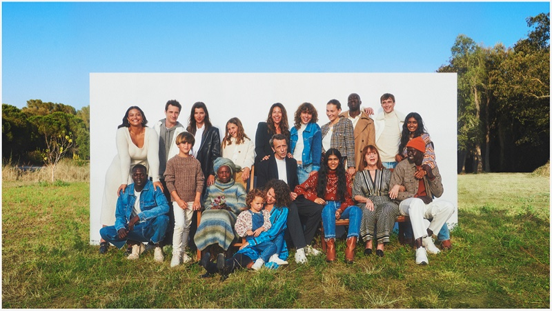 Mango unveils Family Portraits fall-winter 2021 campaign.