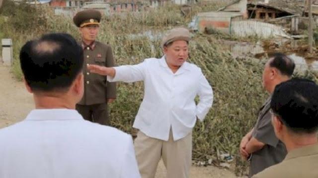 Kim Jong-un Pecat Pejabat Penting karena Tak Mampu Atasi Angin Topan