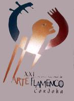 Cartel del festival XXI de flamenco de Córdoba
