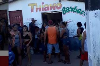 Homem é surpreendido e morto a tiros dentro de barbearia em Capim, na Paraíba