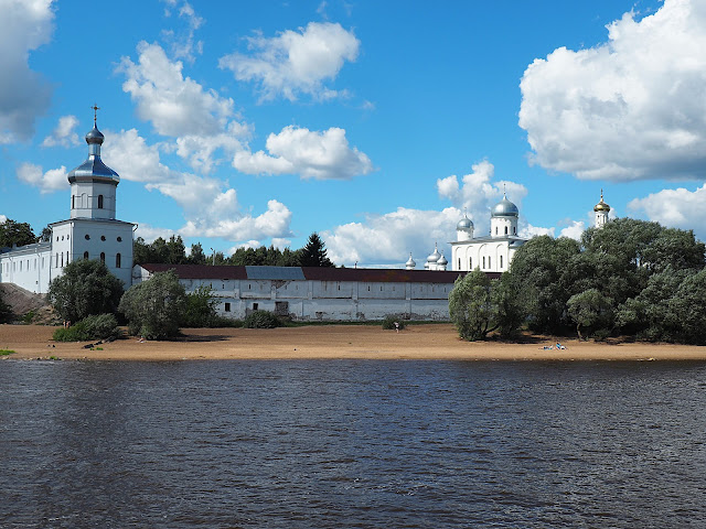 Великий Новгород, Свято-Юрьев монастырь (Veliky Novgorod, St. George Monastery