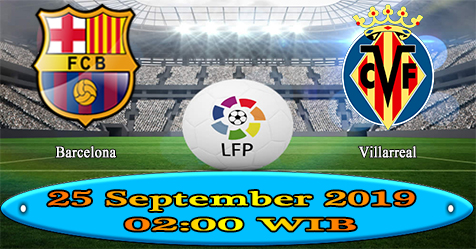 Prediksi Bola855 Barcelona vs Villarreal 25 September 2019