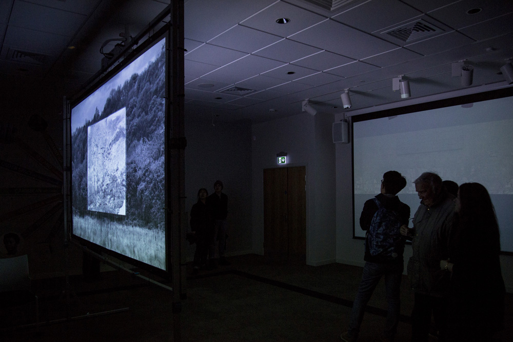 video art installation photography leeds landscape hauntology