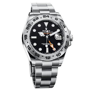 photo of current Rolex Explorer II model