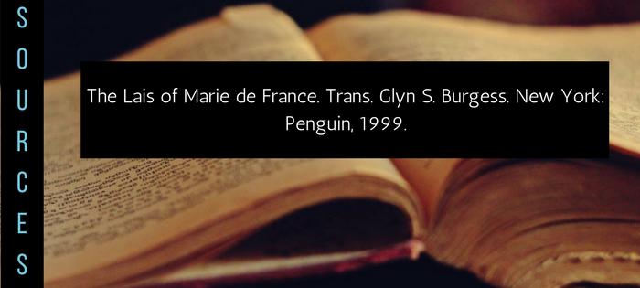 Summary of Marie de France's The Lais of Marie de France Yonec Sources