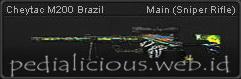 CheyTac M200 Brazil