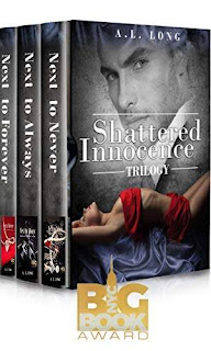 Shattered Innocence Trilogy: Boxed Set - Three Complete Full-Length Novels (Billionaire Romance Suspense) discount book promotion A.L. Long