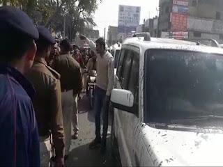 जमुई में कन्हैया कुमार के काफिले पर हमला, गुस्साए लोगों ने अंडे फेंके